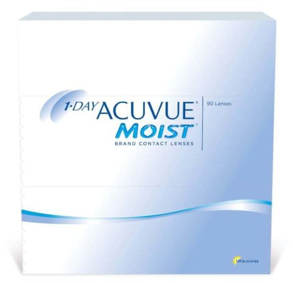 1 DAY ACUVUE MOIST (90 линз)