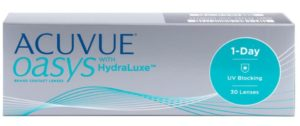 ACUVUE OASYS with HydraLuxe (30 линз) 1-Day